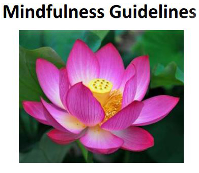Mindfulness Guidelines
